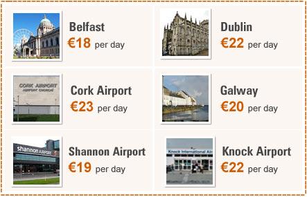 Ireland Car Rental Cheap Car Hire Deals For Ireland